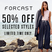 Forcast- 50% off Selected Items Only
